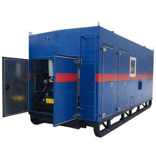 Передвижная парогенераторная установка